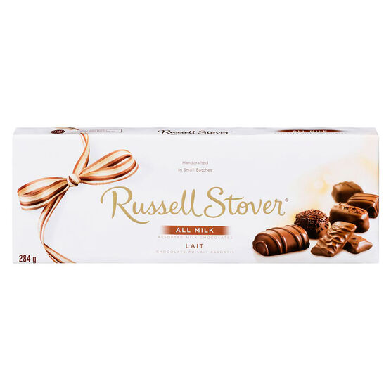 Russell Stover Assorted Milk Chocolate - 284g