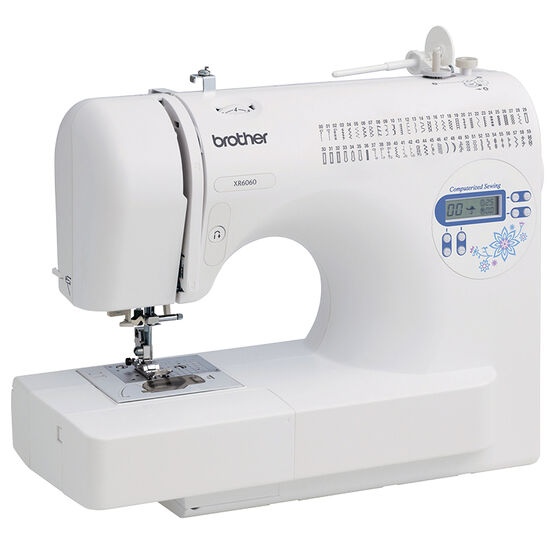 Brother Computerized Sewing Machine - White - XR6060
