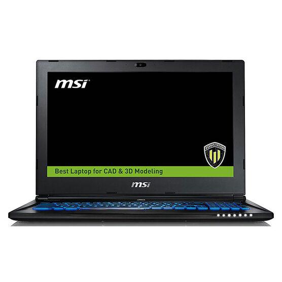 MSI WS60 7RJ-680CA 3D CAD CAM Workstation Laptop - 15 Inch - Intel Xeon