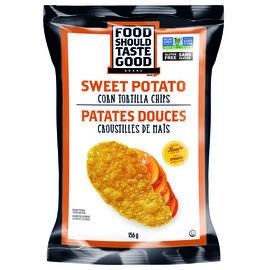 Food Should Taste Good Tortilla Chips - 156g - Sweet Potato