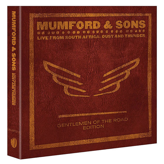 Mumford and Sons - Live from South Africa: Dust and Thunder - 2 Blu-ray Discs + CD