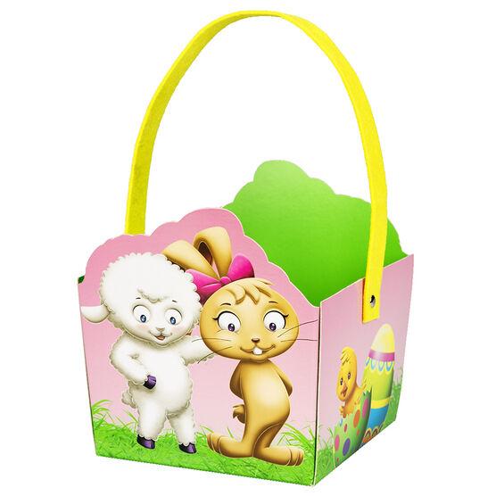 Easter Basket with Emmi & Oggy