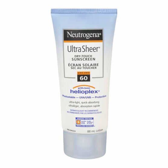 Neutrogena Ultra Sheer Dry Touch Sunscreen Lotion - SPF 60 - 88ml