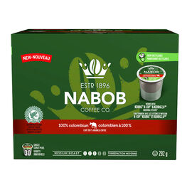 Nabob Coffee - Colombian - 30 Servings