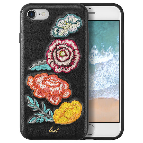 Laut Pop Embroidery Case for iPhone 7/8 - Bouquet - LAUTiP7SPOPBO