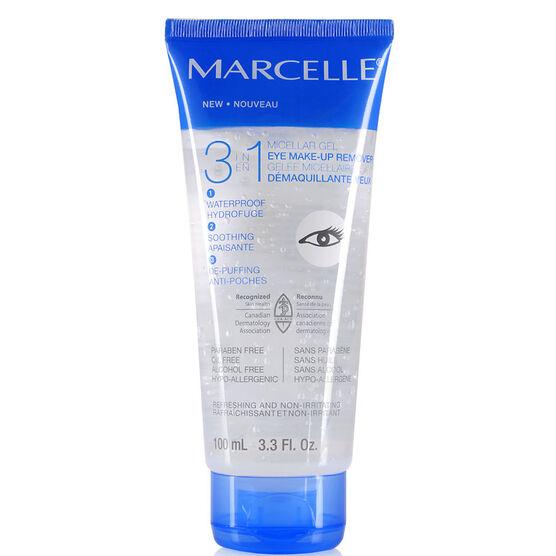 Marcelle 3 in 1 Micellar Gel Eye Make-Up Remover - 100ml