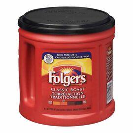 Folgers Classic Roast Ground Coffee - 920g