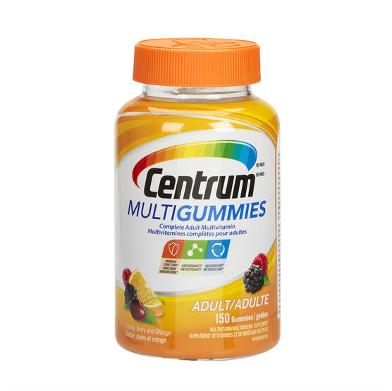 Centrum Multigummies Adult Multivitamin - 150's