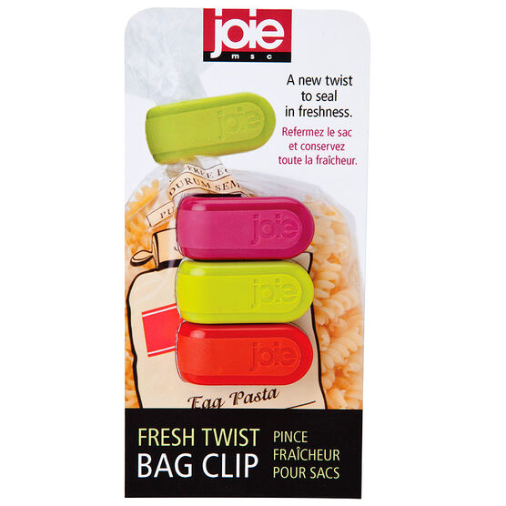 MSC Joie Twist Bag Clips - 3 pack - Assorted
