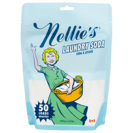 Nellie's All-Natural Laundry Soda - 50 Pouches