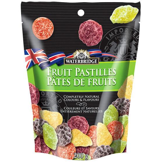 Waterbridge Fruit Pastilles - 200g