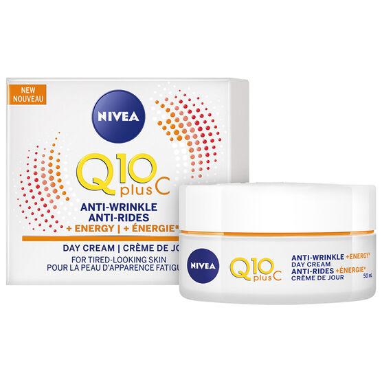 Nivea Q10 Plus C Anti-Wrinkle + Energy Day Cream - 50ml