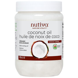 Nutiva Organic Coconut Oil - Virgin - 860ml