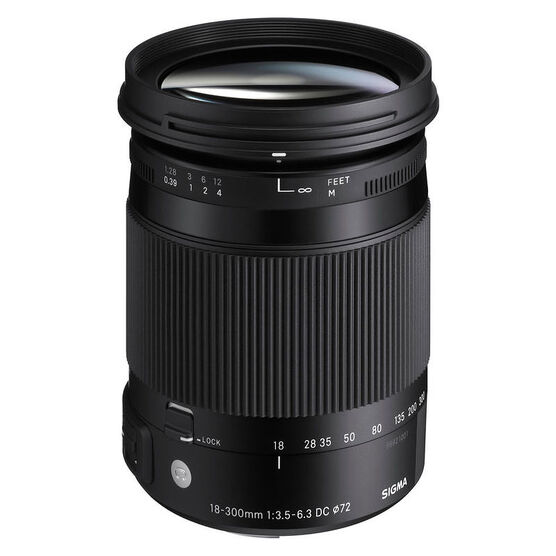 Sigma C 18-300mm F3.5-6.3 DC OS for Canon - COS18300C