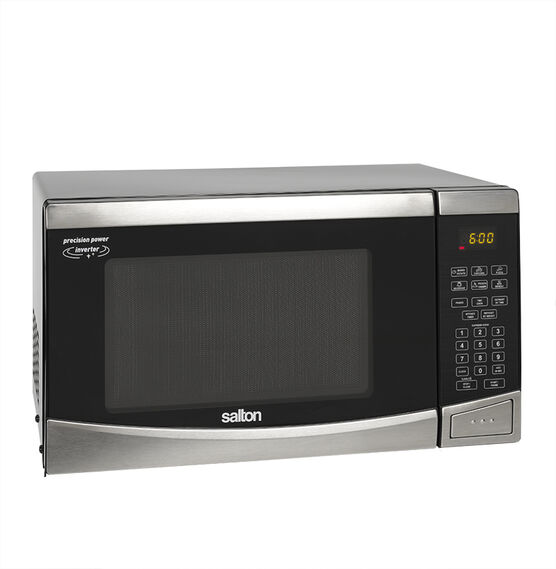 Salton 0.9 cu.ft. Microwave - Stainless Steel - 23PX98F
