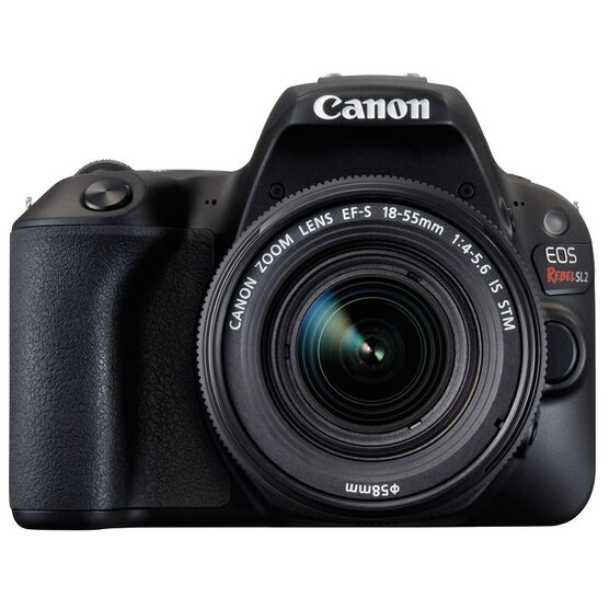 Canon EOS Rebel SL2 with 18-55mm IS STM Lens - Black - 2249C002