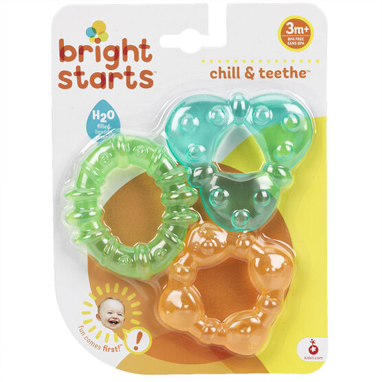 Bright Starts Chill & Teethe Teether Tubes - 3 pack