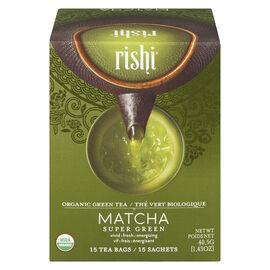 Rishi Tea Matcha Super Green - 15 bags