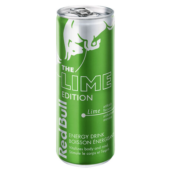 red bull energy drink lime edition 250ml london drugs