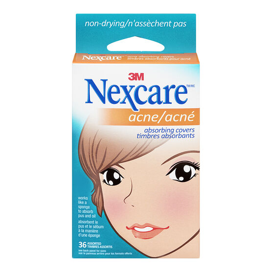 3M Nexcare Acne Absorbing Cover - 36's