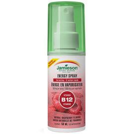 Jamieson Energy Spray Vitamin B12 - Raspberry - 58ml
