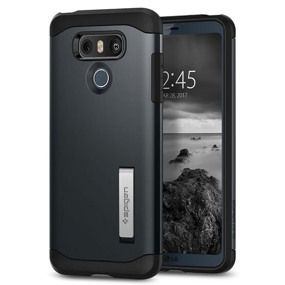 Spigen Slim Armor Case for LG G6 - Metal Slate - SGPA21CS21238