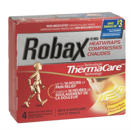 Robax Neck & Shoulder Heatwraps - 4's