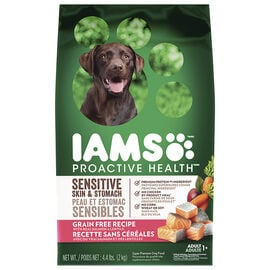 IAMS Grain Free Dog Food - Salmon/Lentils - 2kg