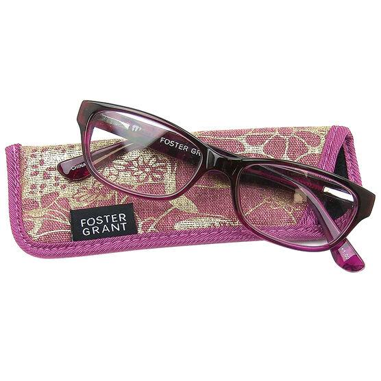 Foster Grant Carletta Pink Reading Glasses - 1.25
