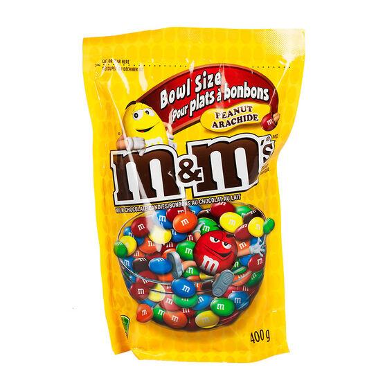 M&M's Chocolates - Peanuts - 400g