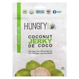 Hungry Buddha Coconut Jerky - Jalapeno Lime - 40g