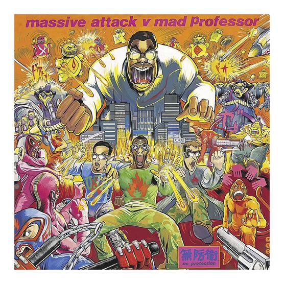Massive Attack v Mad Professor - No Protection - Vinyl