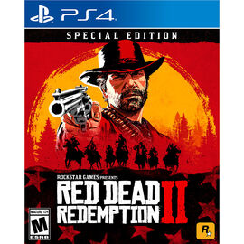 PRE ORDER: PS4 Red Dead Redemption 2 Special Edition