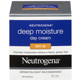 Neutrogena Deep Moisture Day Cream SPF20 - 61ml
