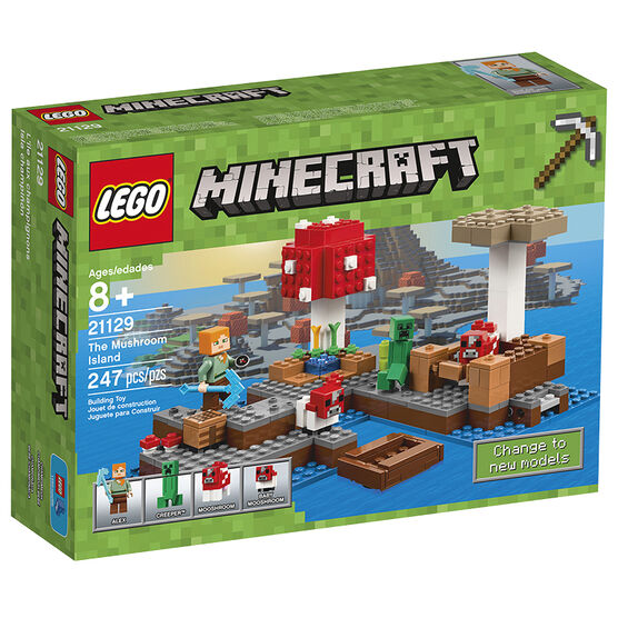 LEGO Minecraft - The Mushroom Island