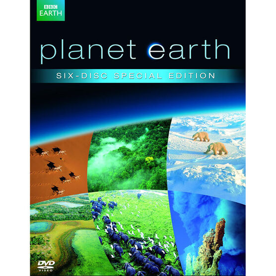 Planet Earth: The Complete Collection - DVD