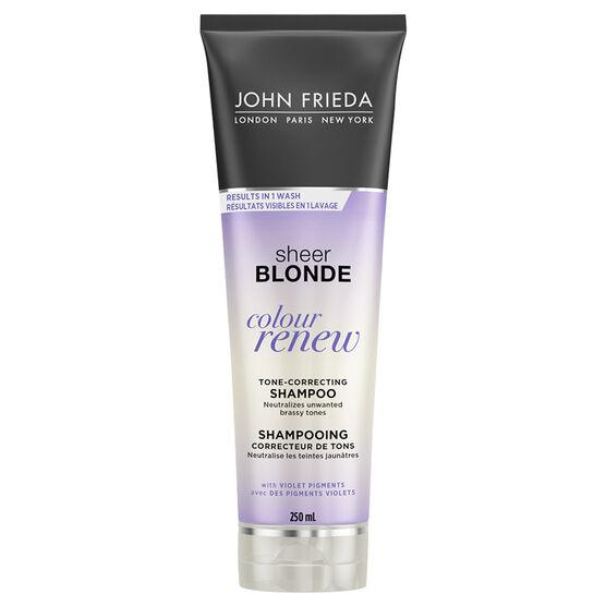 John Frieda Sheer Blonde Colour Renew Tone-Refreshing Shampoo - 250ml