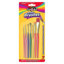 Cra-Z-Art All-Purpose Artist Brushes - 7's