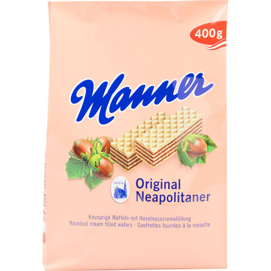 Manner Wafers - Hazelnut - 400g