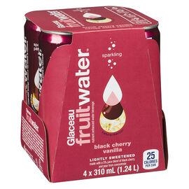 Glaceau FruitWater - Black Cherry Vanilla - 4 x 310ml