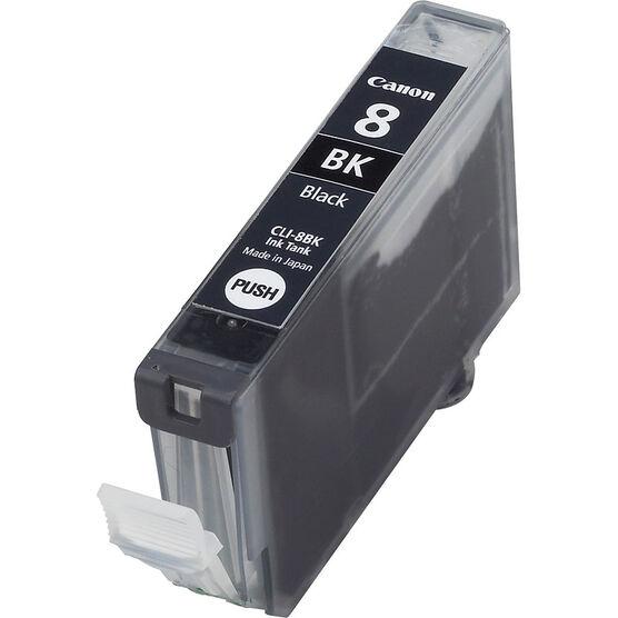 Canon CLI-8BK Ink Cartridge - Black - 0620B002