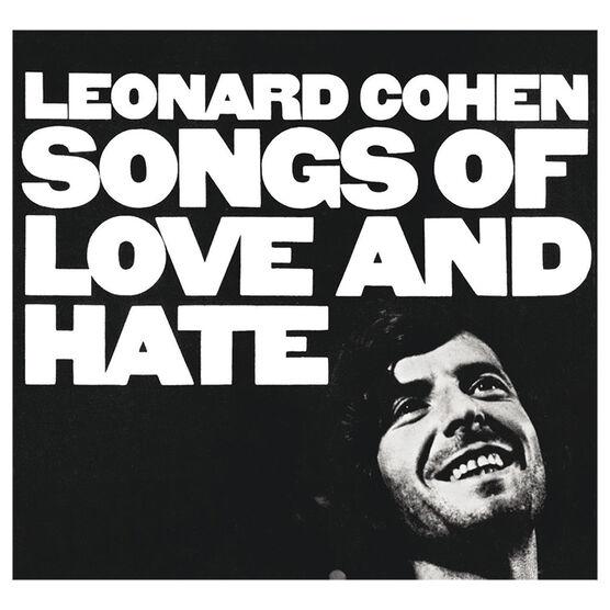 Leonard Cohen - Songs of Love and Hate - Vinyl