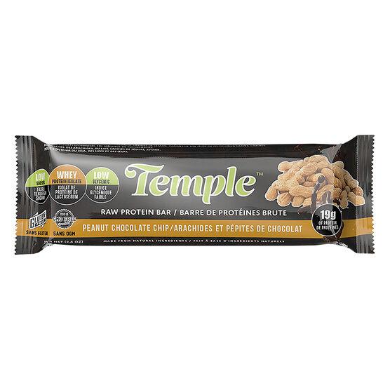 Temple Raw Protein Bar - Peanut Chocolate Chip - 70g