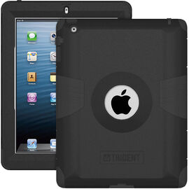 Trident Kraken Case for iPad 1, 2, 3 - Black - AMS-NEW-IPADUS-BK
