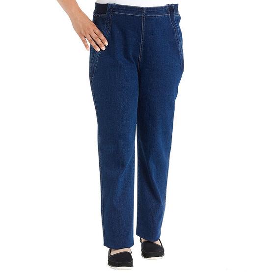 Silvert's Easy Access Open Front Jeans