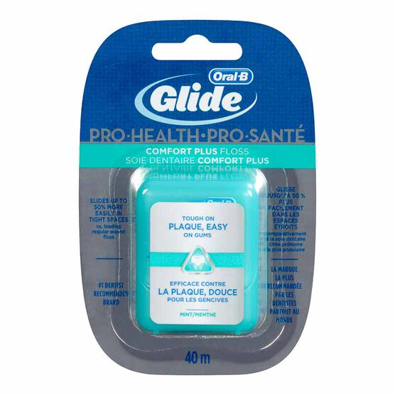 Oral-B Glide Comfort Floss - Mint - 40m