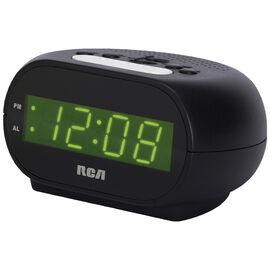 RCA Night Light Alarm Clock - Black - RCD20
