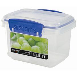 Sistema Klip It Rectangle Container - Blue - 400ml