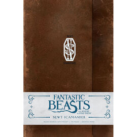 Fantastic Beasts Ruled Journal - Newt Scamander
