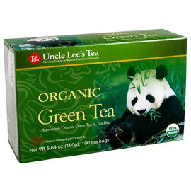 Uncle Lee's Organic Green Tea - 100's